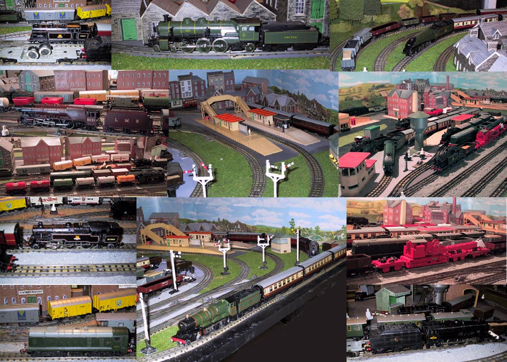 Montage of Trains in 2001