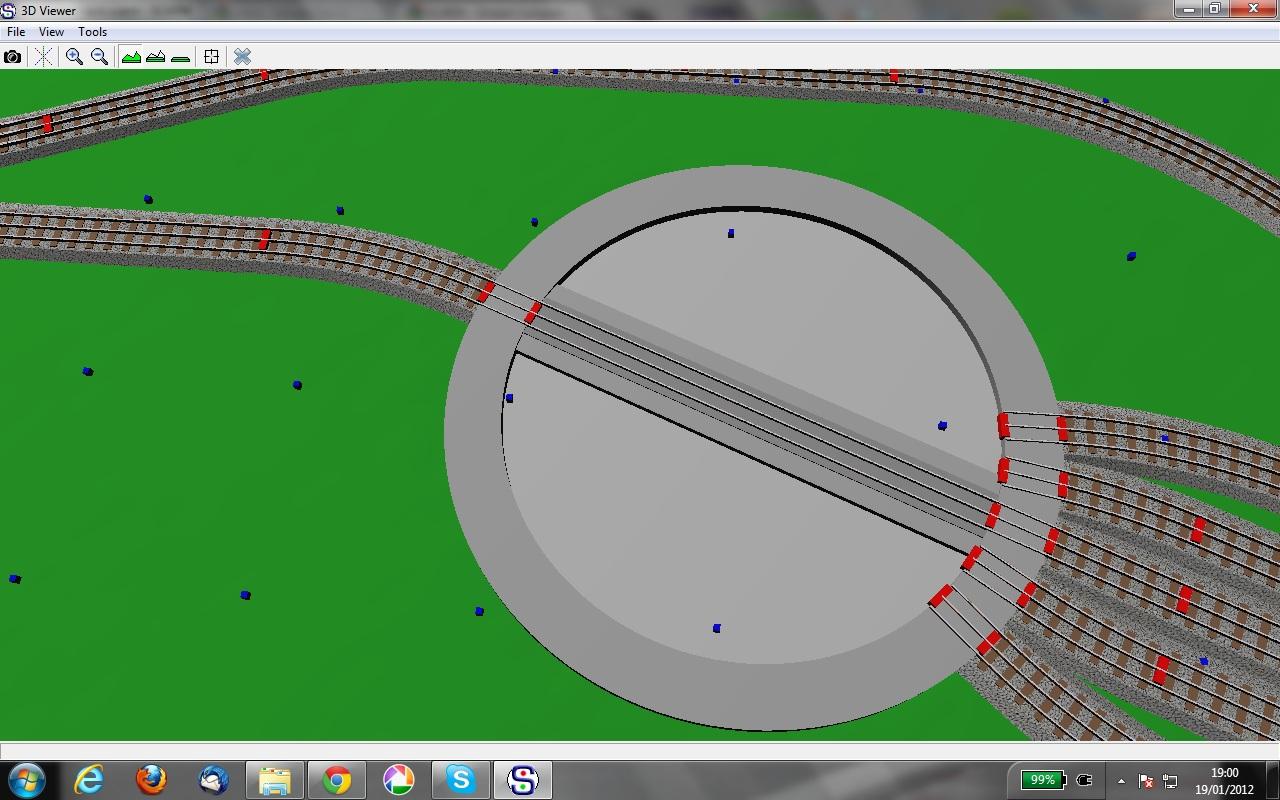 Wiring Diagram For Hornby Turntable : D turntable dublorunner